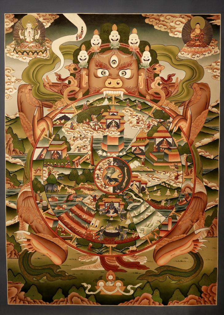 Wheel Of Life Mandalas Life