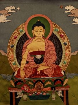 Buddha Thangka Painting
