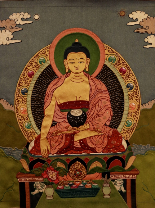 Buddha Thangka Painting