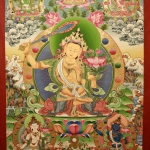 Manjushree Thangka