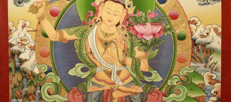 5 forms of Manjushri