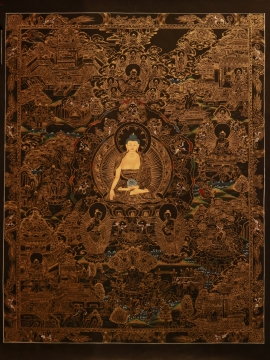 Life of Buddha master Quality Thangka Painting