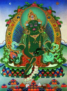 green Jambhala