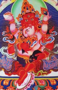 Red jambhala