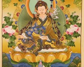 Guru-Rimpoche-Padmasambhava-Thangka