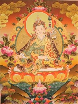 Guru Rinpoche Thangkas