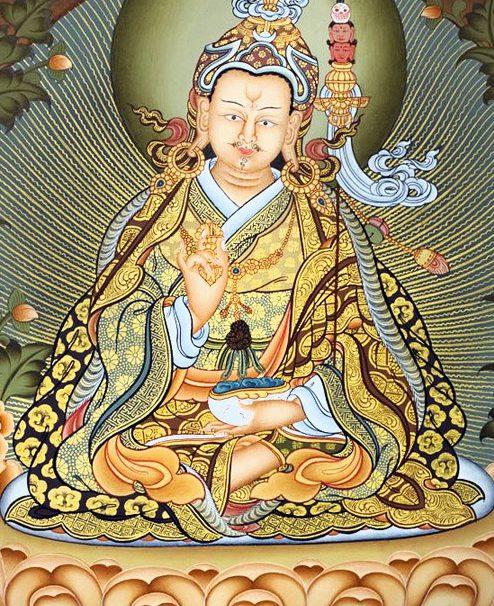 Buy online Guru Padmasambhava Thangka