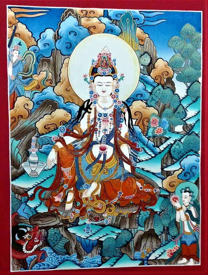 Kuan Yin Goddess of Compassion • Mandalas Life