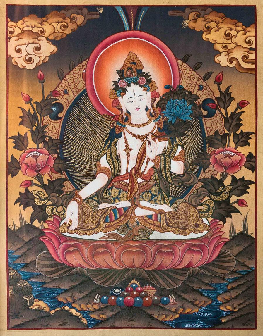 Buy White Tara Thangka online