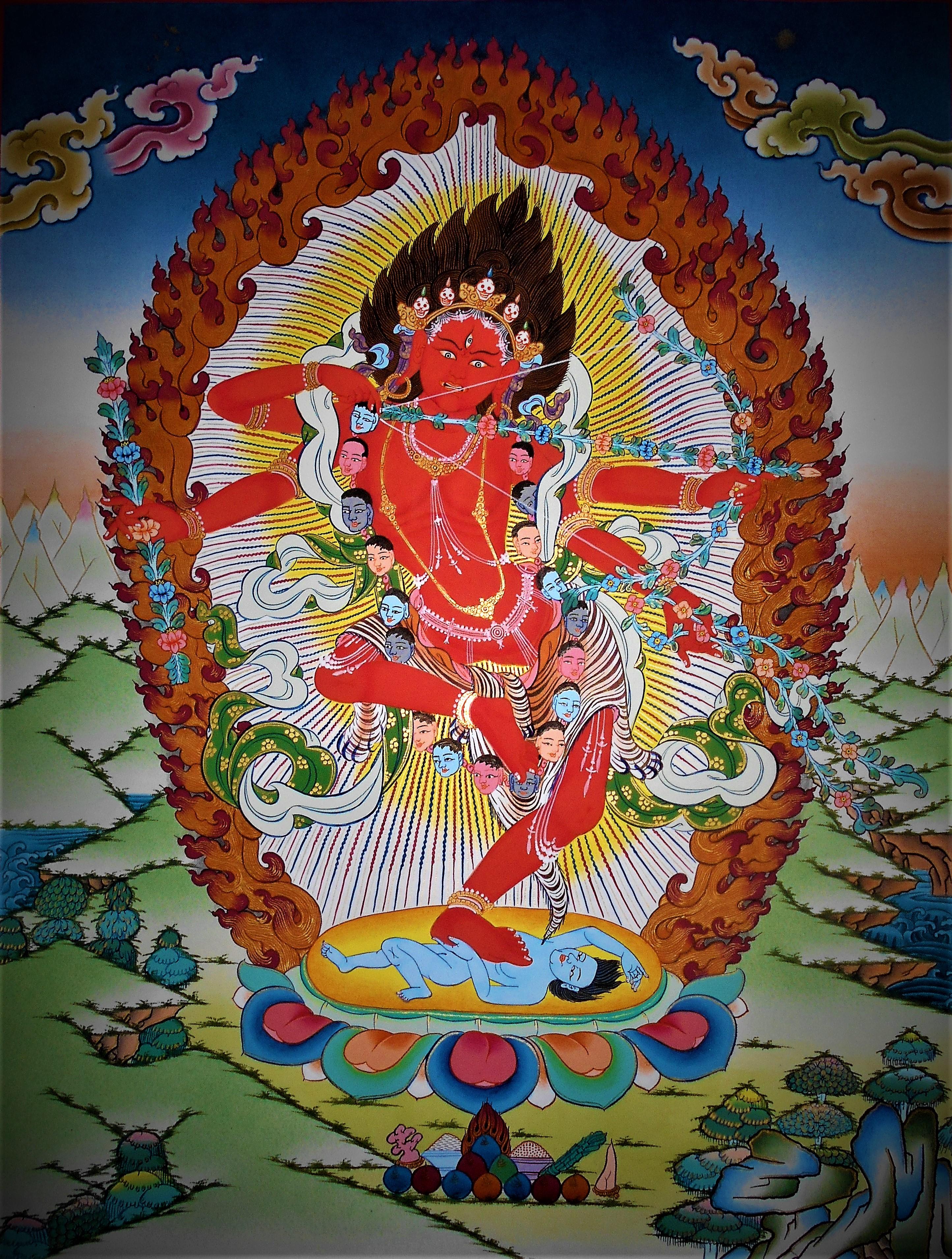 Red Tara – KuruKulla • Mandalas Life