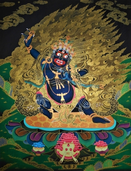 Buy Vajrapani Thangka Onlinea