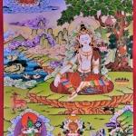 Chenrezig Thangka Painting