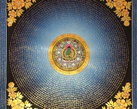 laughing Buddha mandala