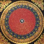 Tibetan Mantra Mandala