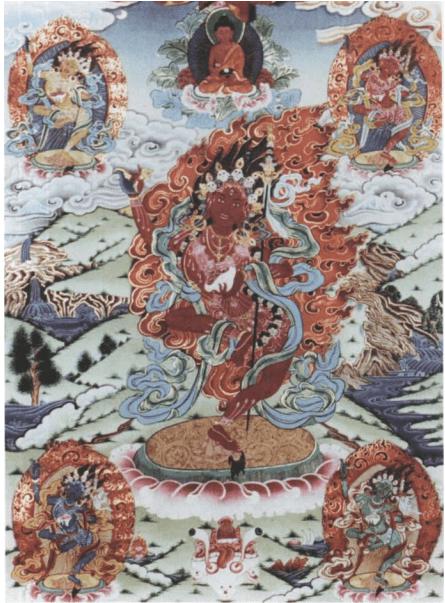 Yidam – Peaceful and Wrathful Buddhist deities – Mandalas Life