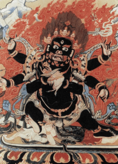 Yidam is a type of deity associated with tantric or Vajrayana Buddhism said to be manifestations of Buddhahood or enlightened mind