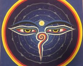 Buddha's Eyes Mandala