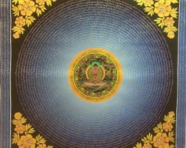 Amitabha Buddha Mantra Mandala