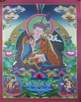 Guru-Rinpoche-Thangka-Painting