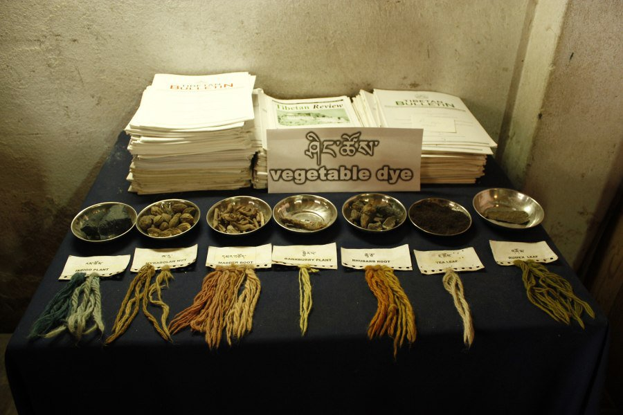 Vegetable-Dyes-used-in-Tibetan-Carpet