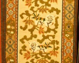 Tibetan-Carpet-with-snow-lion