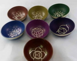 & chakra singing bowl for meditation and yoga