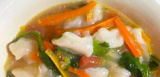 Thenthuk recipe tibetan noodle soup