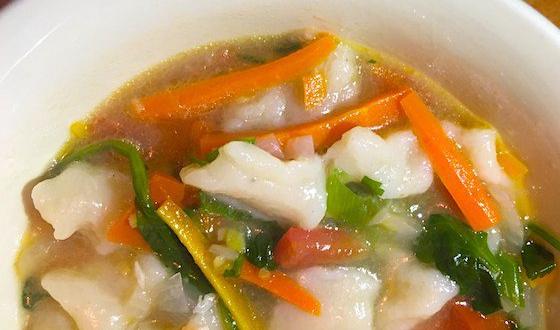 Thenthuk recipe tibetan noodle soup