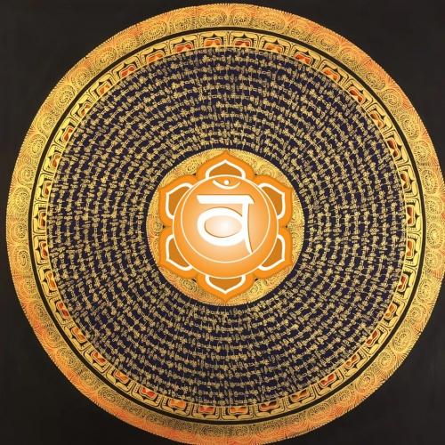 Sacral Chakra Mandala