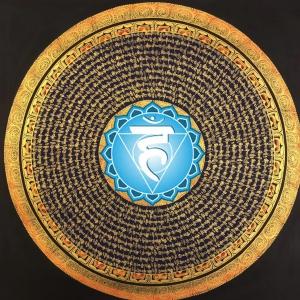 Throat Chakra Mandala