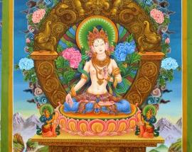 White Tara Paubha