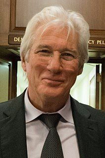 Richard Tiffany Gere is an American actor. He began in films in the 1970s, playing a supporting role in Looking for Mr. Goodbar (1977) and a starring role in Days of Heaven (1978). He came to prominence with his role in the film American Gigolo (1980), which established him as a leading man and a sex symbol. He went on to star in many well-received films, including An Officer and a Gentleman (1982), The Cotton Club (1984), Pretty Woman (1990), Sommersby (1993), Primal Fear (1996), Runaway Bride (1999), I'm Not There (2007), Arbitrage (2012) and Norman: The Moderate Rise and Tragic Fall of a New York Fixer (2016). For portraying Billy Flynn in the Academy Award-winning musical Chicago (2002), he won a Golden Globe Award and a Screen Actors Guild Award as part of the cast.