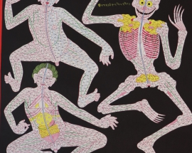 Anatomy - Blood Vessels Thangka