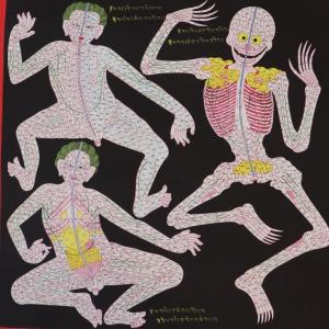 Anatomy - Blood Vessels Thangka