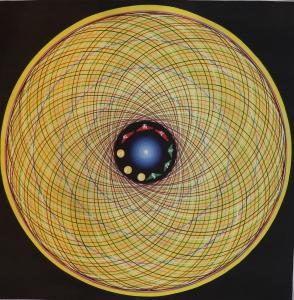 Om Cosmic Mandala