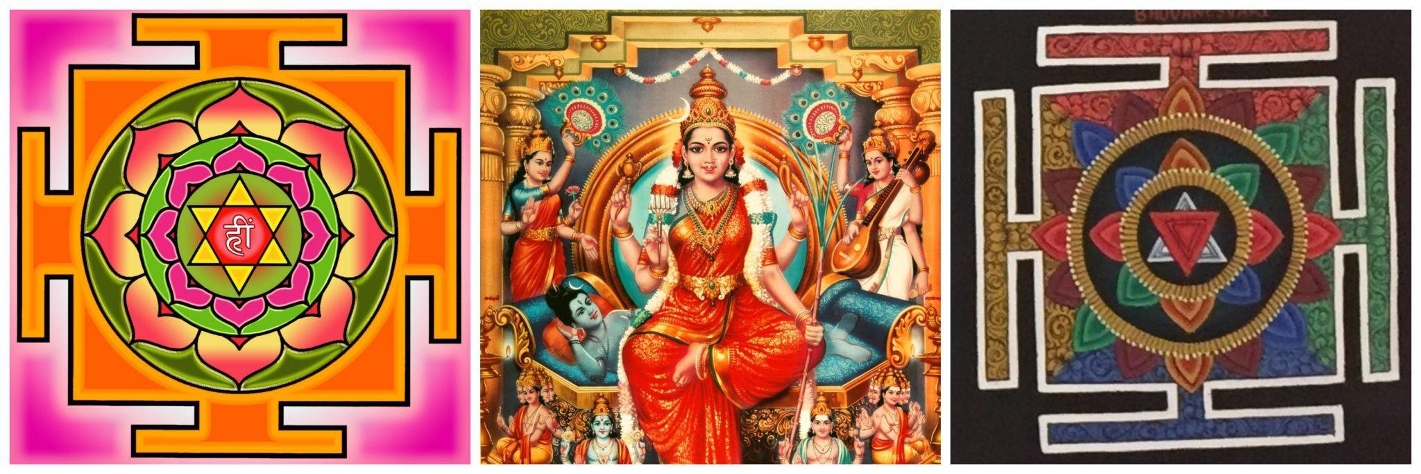 Bhuvaneshwari Yantra – Meditation Object – Mandalas Life