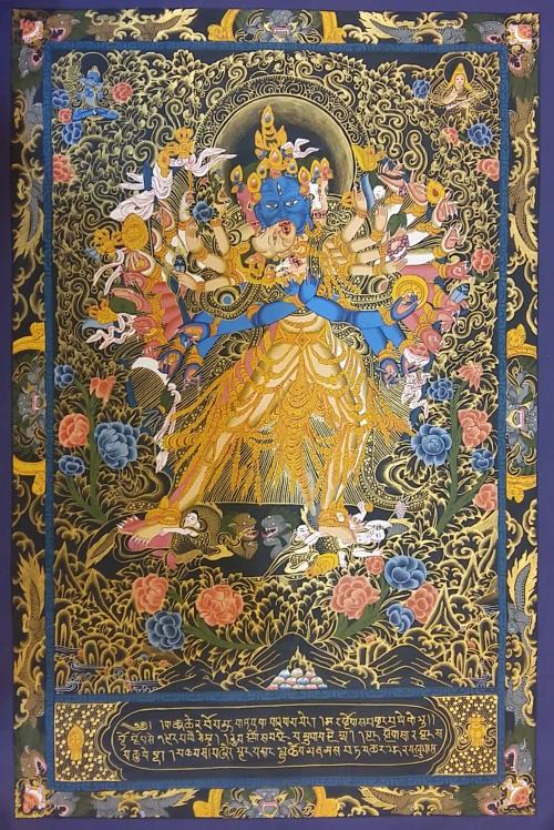 Kalachakra Shakti Thangka Painting