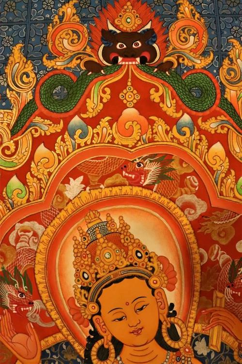 Vasudhara Thangka art