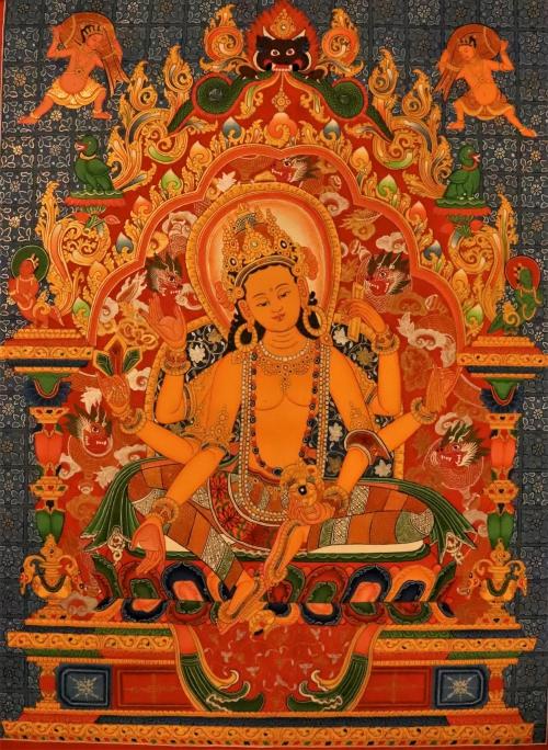 Vasudhara Thangka