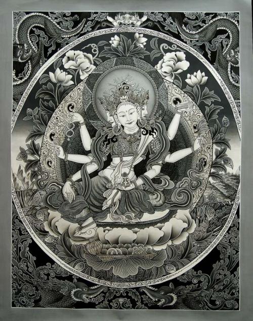 Vasundhara Paubha Painting