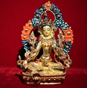 Green Tara Statues