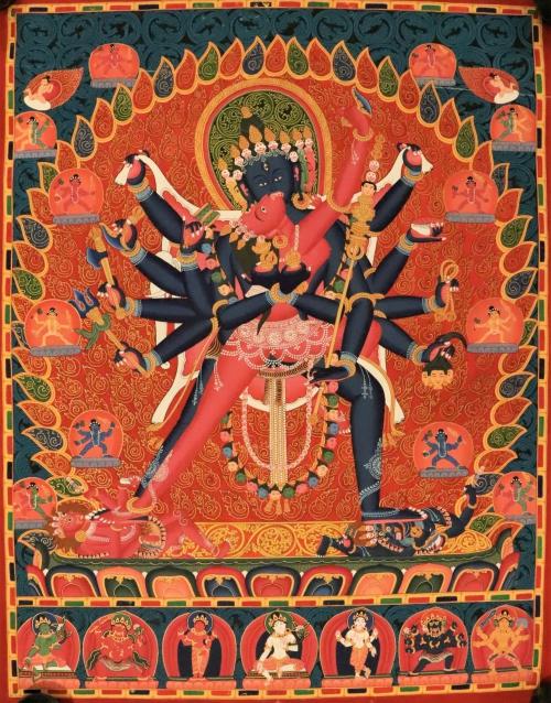 Chakrasamvara Thangka