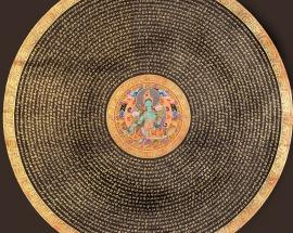 Green Tara Mantra Mandala