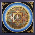 White Tara Lotus Mandala