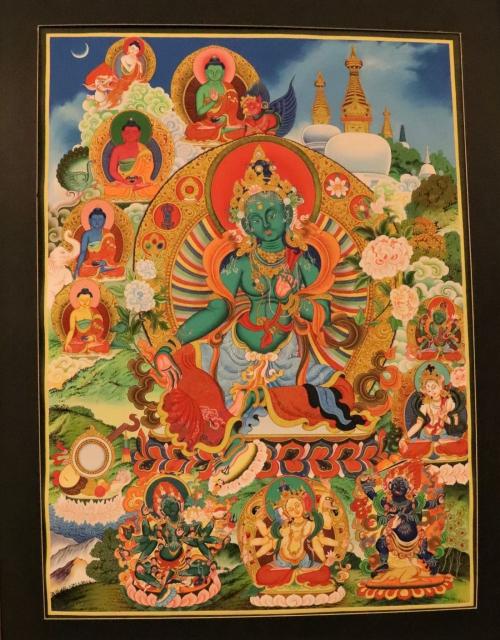 Green Tara Paubha
