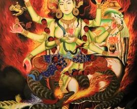 Annapurna Thangka