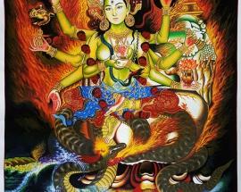 Annapurna Thangka Painting