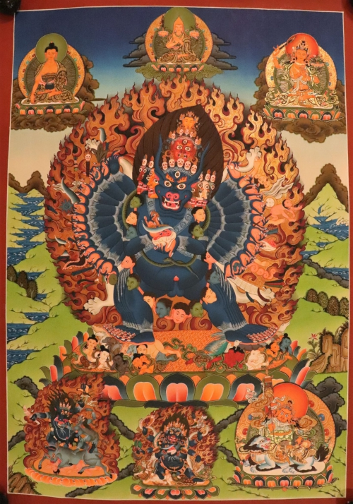 Yamantaka Thangka