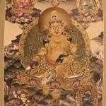 Five Jambhala Thangka