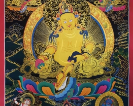 Five Jambhala Thangka Painting